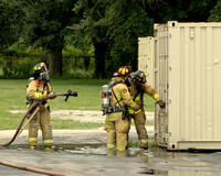 August 30th, Container Fire