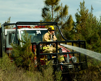 November 12th, Brush Fire